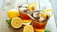 Salah satu minuman khas dari Maroko dengan bahan utama teh yang disajikan pada saat Ramadan adalah Orange Mint Tea.