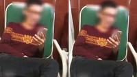 Pria yang lumpuh karena kecanduan main smartphone. (Foto: Dream.co.id)