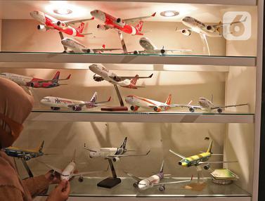 Miniatur Pesawat dari Cibinong