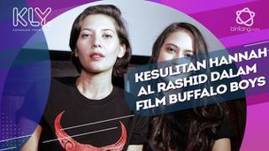 Demi maksimalkan akting, Hannah Al Rashid rela perbanyak latihan fisik untuk film Buffalo Boys