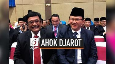 Tiga mantan Gubernur DKI yaitu Basuki Tjahaja Purnama, Djarot Saiful Hidayat, hingga Sutiyoso menghadiri acara pelantikan Anggota DPR DKI periode 2019-2024.