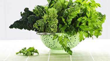Ilustrasi sayuran hijau (iStockphoto)