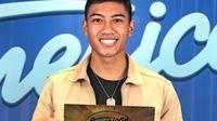 Dapat tiket emas Amercan idol, peserta berdarah Indonesia ini lolos ke Hollywood. (SUmber: Instagram/@dzakisukarno)
