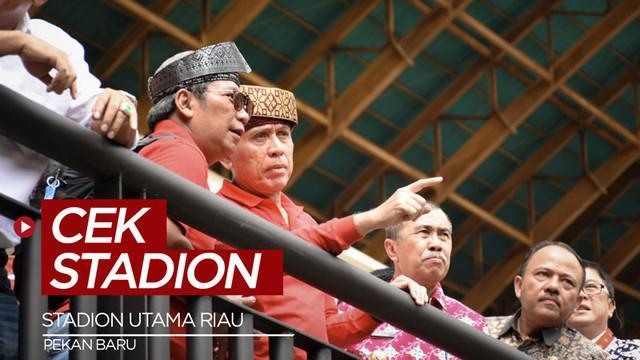 Berita video Ketua Umum PSSI, Mochamad Iriawan melakukan pencekkan di Stadion Utama Riau, Pekanbaru karena Stadion Utama Riau terpilih menjadi satu dari sebelas stadion yang dinominasikan sebagai tuan rumah Piala Dunia U-20 2021.