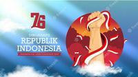 Ilustrasi hari kemerdekaan Republik Indonesia. (Photo by YusufSangdes on Freepik)