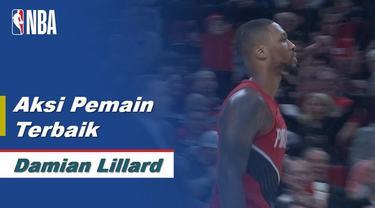 Berita Video Damian Lillard Bawa Portland Trail Blazers Raih Kemenangan Atas Houston Rockets 125-112