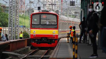 Ada Pergantian Wesel, KRL Beroperasi Hanya Sampai Stasiun Manggarai