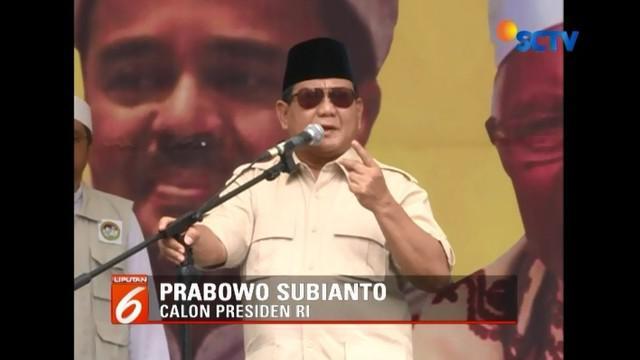Hadiri deklarasi Komando Ulama Pemenangan Prabowo-Sandi (Kopassandi), Prabowo menyebut dirinya maju di Pilpres bukan haus kekuasaan, melainkan demi keadilan rakyat.