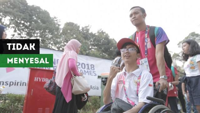 Berita video tentang para volunteer di Asian Para Games 2018 yang tak menyesal telah banyak membantu dengan ikhlas para atlet, ofisial, dan pengunjung.