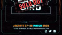Penjualan tiket early bird Hammersonic (Instagram/ hammersonicfest)
