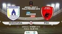 Piala Presiden: Persipura Jayapura vs PSM Makassar. (Bola.com/Dody Iryawan)