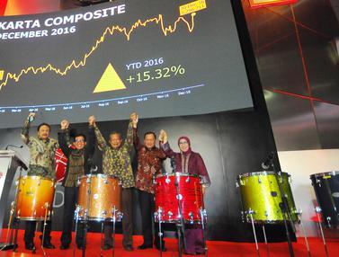 20161230- Penutupan BEI 2016 Naik 15 Persen - Darmin Nasution-Jakarta- Angga Yuniar