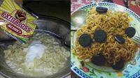 Potret 6 Mi Campur Makanan Lain Ini Indonesia Banget (sumber: 1cak.com dan Instagram.com/ngakakkocak)
