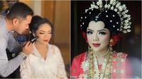 Raiyah dirias jelang pernikahannya (Sumber: Instagram/anpasuha_official)