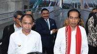 Presiden Jokowi meresmikan Jembatan Merah Putih di Kota Ambon