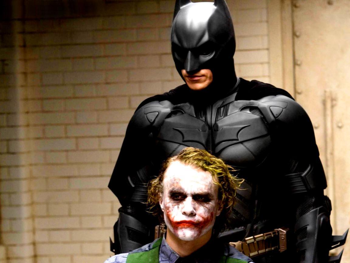 Batman dan Joker. (Wallpaper Stock)