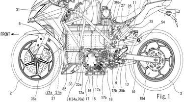 Hak paten motor listrik berbasis Kawasaki Ninja diajukan