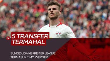 Berita Video tentang 5 Pemain Bundesliga yang Memiliki Nilai Transfer Termahal ke Premier League
