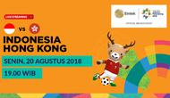 Jadwal sepak bola putra Asian Games 2018, Indonesia vs Hong Kong. (Bola.com/Dody Iryawan)