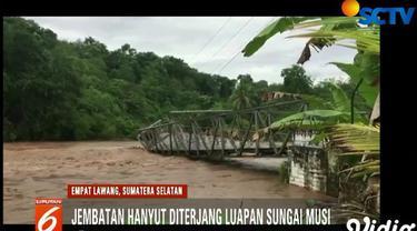 Jembatan ini merupakan satu-satunya akses yang menghubungkan Kecamatan Ulu Musi dan Kecamatan Paiker.