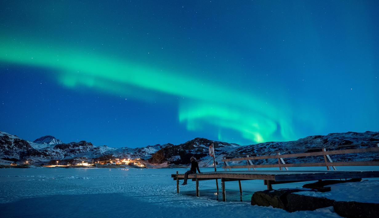 FOTO: Menikmati Keindahan Aurora Borealis di Langit Norwegia - Global Liputan6.com