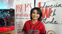 Tamara Geraldine luncurkan buku Drums (Not Drugs) Generation' dan 'Indonesian With Attitude' di Hard Rock Cafe, Jakarta, Minggu (28/10/2018).