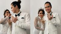 Tissa Biani dan Dul Jaelani pamer cincin (Sumber: Instagram/tissabiani)
