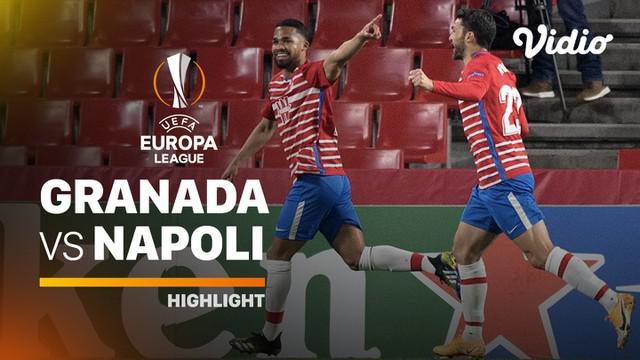 Berita video highlights leg I babak 32 Besar Liga Europa 2020/2021 antara Granada melawan Napoli yang berakhir dengan skor 2-0, Jumat (19/2/2021) dinihari WIB.
