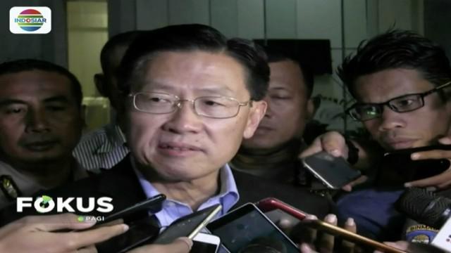 Jadi saksi kasus suap perizinan pembangunan Meikarta, CEO Lippo Group, James Riady dicecar 59 pertanyaan oleh KPK.