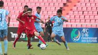 Laos mengalahkan Kepulauan Mariana Utara dengan skor telak 10-0 dalam laga lanjutan Grup G kualifikasi Piala Asia U-16 2018 di Stadion Rajamangala, Bangkok, Rabu (20/9/2017). (Bola.com/AFC)