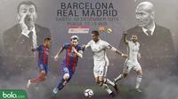 La Liga_Barcelona Vs Real Madrid_Pelatih (Bola.com/Adreanus Titus)