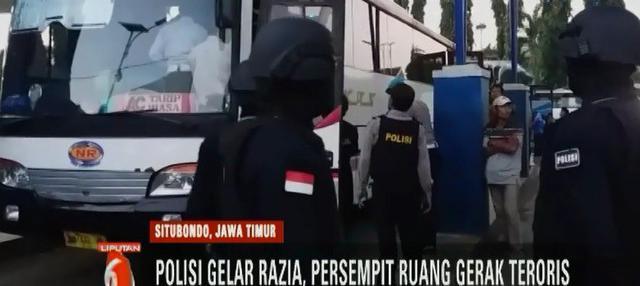 Dalam ledakan di Pasuruan, seorang pria bernama Anwardi terluka yang diduga akibat terkena ledakan bom.