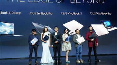 "ASUS menghadirkan enam buah notebook baru dengan tema ""Less is the New Luxury""."