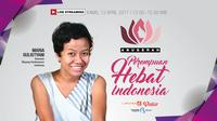 salah satu penerima Anugerah Perempuan Hebat 2017