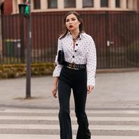Tips pakai kemeja agar tampil stylish. (Foto: instagram.com/thestylestalker)