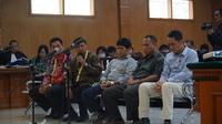 Sidang lanjutan perkara suap perizinan proyek Meikarta menghadirkan sejumlah saksi di Pengadilan Tipikor Bandung, Rabu (27/3/2019). (Huyogo Simbolon)