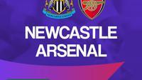 Premier League - Newcastle United Vs Arsenal (Bola.com/Adreanus Titus)