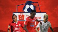 Liga 1 -  Riko Simanjuntak, Dedi Hartono, Kushedya Hari Yudo (Bola.com/Adreanus Titus)