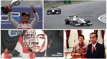 Rio Haryanto akhirnya menjadi pebalap Indonesia pertama yang akan berlaga pada ajang F1. Perjalanan panjang penuh lika liku dan melelahkan berakhir pada sebuah kebanggaan.