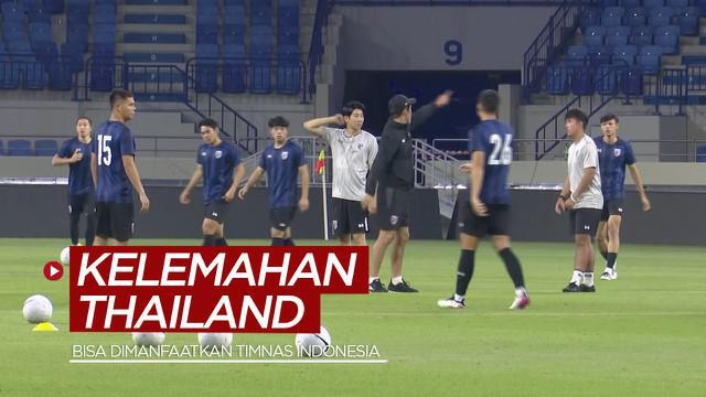 Berita video Pelatih Akira Nishino mengungkapkan salah satu kelemahan Thailand jelang laga Kualifikasi Piala Dunia 2022 menghadapi Timnas Indonesia, Rabu (2/6/2021).