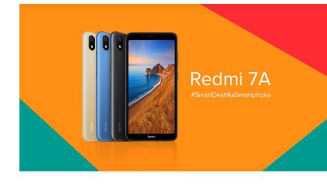 Redmi 7A, smartphone entry level Xiaomi yang dibanderol mulai Rp 1,2 jutaan.