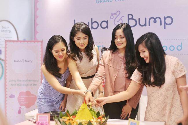 Kimberly Sarah Yo (Founder of Buba & Bump), Priscilla Angriawan (Founder of Buba & Bump), Titi Kamal (Guest Star), Cynthia Larasanti (Founder of Buba & Bump)/copyright vemale.com/Amelia AK