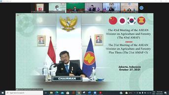 SYL dan Menteri Pertanian se-ASEAN Bahas Kerjasama Bidang Kesehatan Hewan di Forum AMAF ke-43