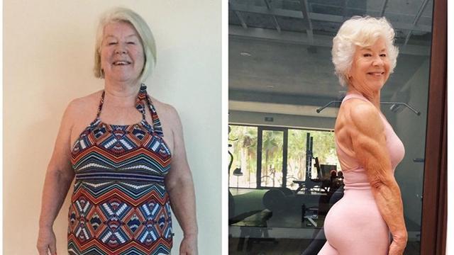 Berhasil Diet di Usia 73 Tahun Demi Kesehatan, Penampilan Nenek Ini Jadi Sorotan