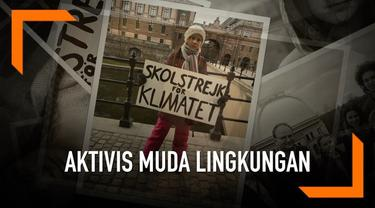 Seorang gadis Swedia yang merupakan aktivis lingkungan hidup berbicara tentang perubahan ilim di Parlemen Inggris. Ia telah mengawali aksinya untuk lingkungan sejak 2018
