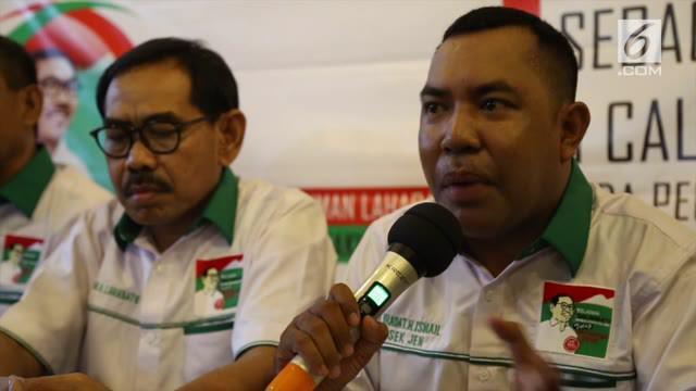 Relawan Salawaku Nusantara yang berasal dari Maluku Utara deklarasikan dukungan pada pasangan Joko Widodo-Maruf Amin.
