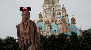 Penampakan Disneyland Hong Kong yang Dibuka Lagi
