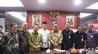 Kemendagri menfasilitasi pertemuan Wali Kota Tangerang Arief Wismansyah dan pihak Kemenkumham, Kamis (18/7/2019) (foto: dokumentasi Humas Kemendagri).