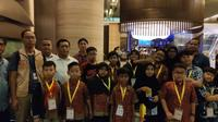 Siswa-siswi SD hingga SMA asal Indonesia yang bersaing di ajang Hong Kong International Mathematical Olympiad (HKIMO) Final 2019. (KJRI Hong Kong)