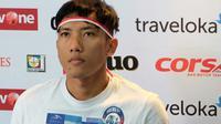 Ahmad Bustomi bicara soal wasit asing di Liga 1 2017. (Bola.com/Iwan Setiawan)